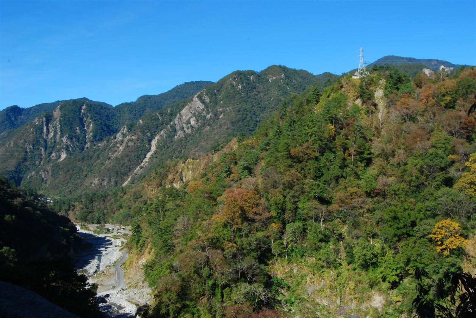 八仙山-河谷地型